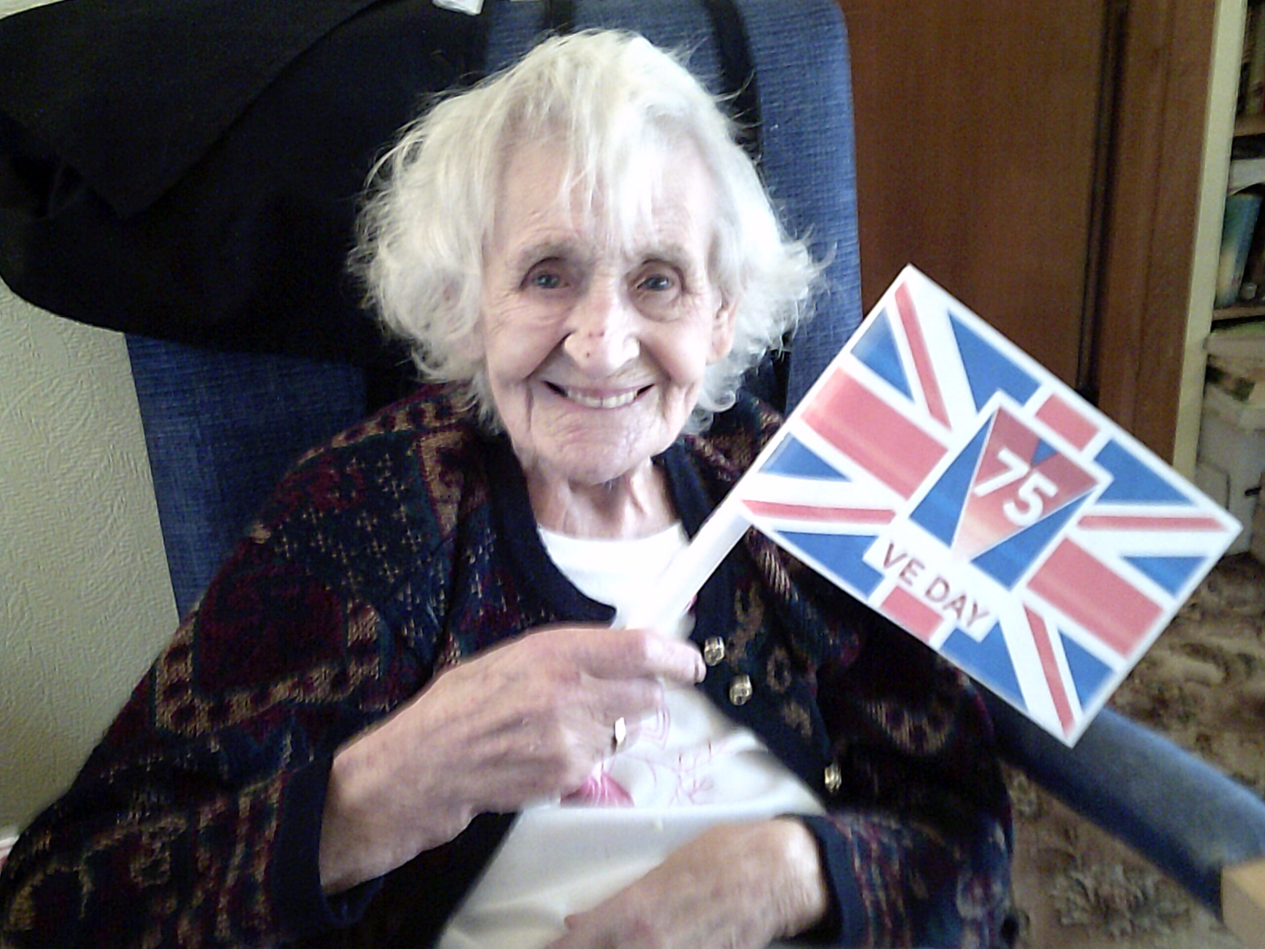 VE Day at Elizabeth House and Moorfields Care Home in Bury