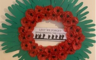 Remembrance at Holmewood Residential Home in Cockermouth